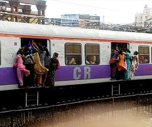 ムンバイの電車