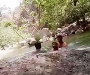 インド人3名が溺れる