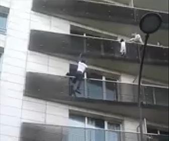 パリのスパイダーマン