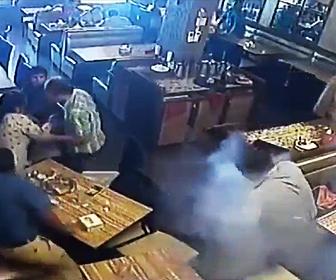 携帯電話が爆発