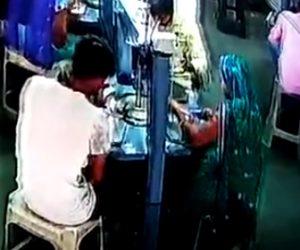 インドの工場で事故