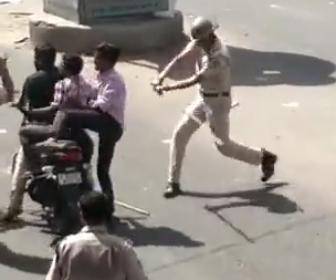 インドの警察官