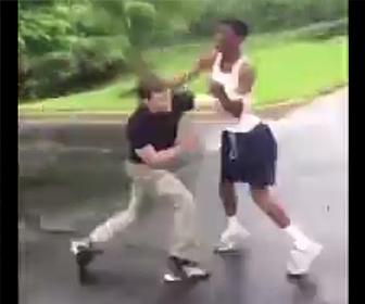 黒人VS白人