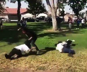 女性達の喧嘩