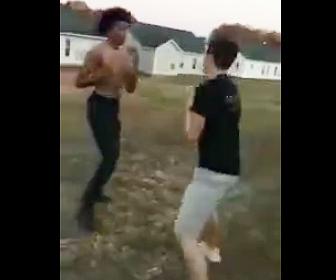 白人VS黒人