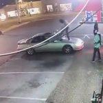 【動画】女性が駐車場でナンパされるが拒否。ナンパ男が恐ろしい行動に出る