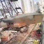 【動画】クレーン操作を誤り恐ろしい事故が起きてしまう衝撃映像