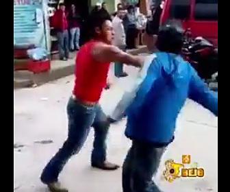 酔っ払いの喧嘩