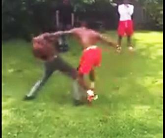 黒人の喧嘩