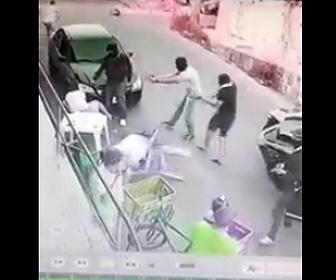 至近距離から銃で撃ちまくり3名殺害
