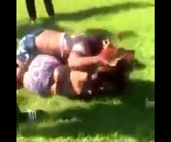 女性2人の喧嘩