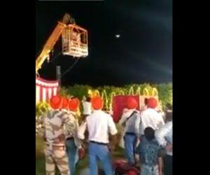 インドの結婚式で事故