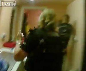 女性警察官が頭蓋骨骨折