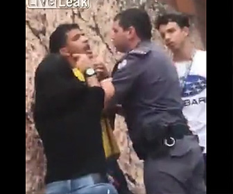 警察官が息子の喧嘩相手に暴行