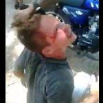 【動画】ブラジルのスラム街で泥棒が捕まるとこうなってしまう