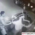 【動画】警察官が5人の男達に襲われる。銃を奪われ警察官が頭を撃たれてしまう