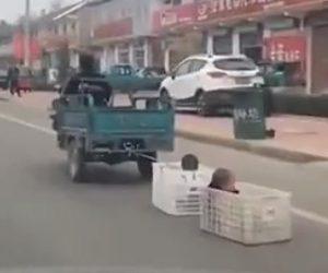 中国お父さんがワイルド過ぎる