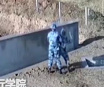 手榴弾訓練失敗