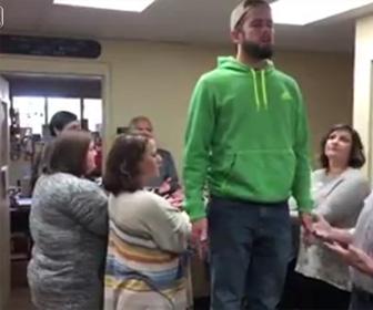 【動画】説明を勘違いした男性。衝撃の結末