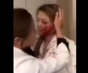 【動画】整形手術を受けた女性が気に入らず先生に襲いかかる衝撃映像