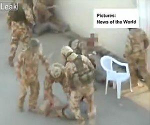 【動画】イラクの若者達を捕まえ激しい暴行する英国の兵士達