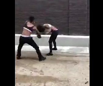 女性2人が激しい喧嘩