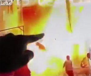 【動画】イスラム国の自爆テロ映像。レストランで爆発が起き20名が死亡
