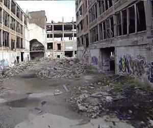 【動画】デトロイトが丸ごと廃墟に!崩壊した街の映像がヤバすぎる!