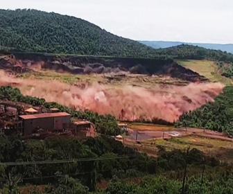 【動画】死者150人以上のブラジル、鉱山ダム決壊映像が恐ろし過ぎる!