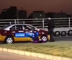 【動画】運転免許試験で失敗し自分を叩きまくり倒れる中国人男性