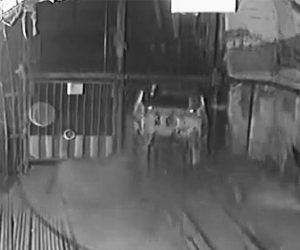 【動画】鉱山で無人のカートがエレベーターシャフトに落下してしまう衝撃事故