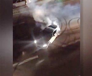 【動画】高速道路でドリフトをしまくり大渋滞を引き起こすヤバすぎる車
