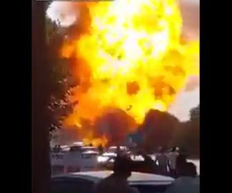 【動画】ナイジェリアで原油のパイプライン爆発、50人以上が行方不明の大惨事