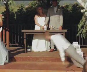 【動画】結婚式で男性が突然意識を失い倒れてしまう衝撃映像