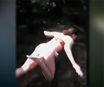 【動画】19歳女性が16歳の友達を橋の上から突き落とす衝撃映像