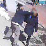【動画】道を歩いて渡る27歳女性に男が突然殴りかかる衝撃映像