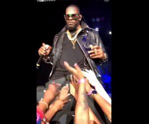 【動画】ラッパーがファンに体を触られまくる衝撃映像