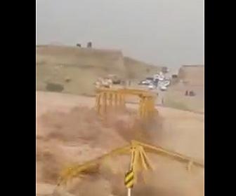 【動画】イランで大洪水が発生。橋が流されてしまう衝撃映像