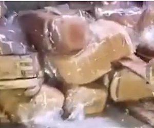 【動画】ロシア軍の食糧庫が恐ろしい状態になっている衝撃映像