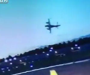 【動画】小型機が飛び立った直後に墜落炎上してしまう衝撃事故映像