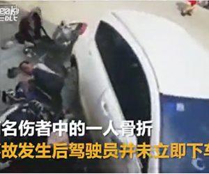 【動画】SUV車が暴走。2人をはね飛ばし店に突っ込む衝撃事故