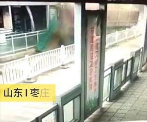 【動画】駅の制御室に猛スピードのトラックが突っ込んでしまう衝撃事故映像