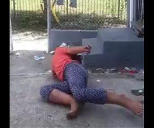 【動画】ドラッグを使用しゾンビになった女が怖すぎる