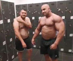 【動画】ポッチャリおじさんにできて筋肉モリモリのボディービルダーにできない事