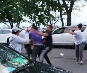 【動画】駐車スペース争いで激しい殴り合いになってしまう衝撃映像