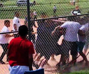 【動画】子供の野球の試合を見に来た親達が大乱闘になる衝撃映像