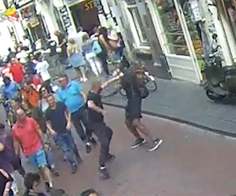 【動画】ナイフを持った麻薬の売人vs屈強な黒人。歩道で激しい戦い衝撃の結末