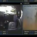 【動画】ブレーキが故障したダンプカーがカーブを曲がり切れず横転爆発する衝撃映像