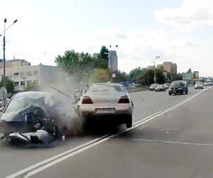 【動画】ドラッグを使用した男が運転する車が反対車線の車に突っ込んで行く衝撃事故映像