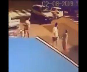 【動画】飲酒運転の車が横断歩道を渡る母親と子供が轢かれてしまう衝撃事故映像